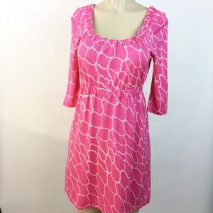 Lilly Pulitzer Hot Pink Dress Size S